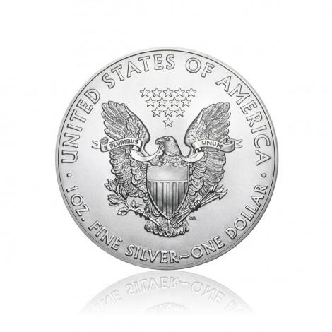 1 Unze Silber American Eagle div.