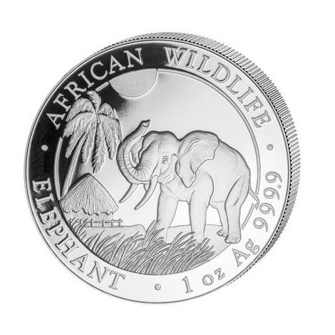 1 Unze Silber Somalia Elefant 2017