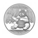150g Silber China Panda 2017 (Polierte Platte)