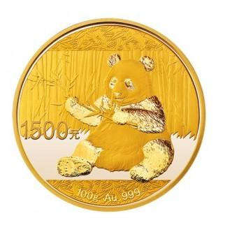 100g Gold China Panda 2017 PP (inkl. Box und Zertifikat)