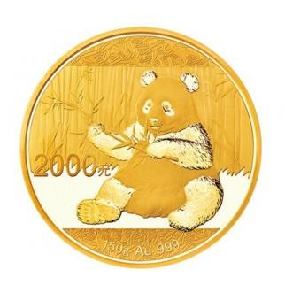 150g Gold China Panda 2017 PP (inkl. Box und Zertifikat)