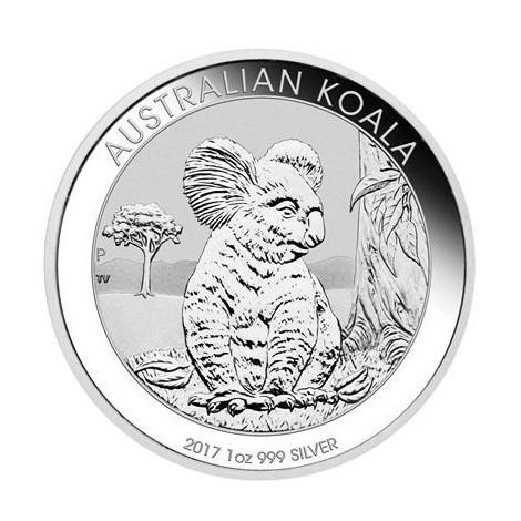 1 Unze Silber Australien Koala 2017
