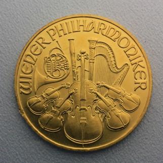 1/2 Unze Gold Wiener Philharmoniker div.