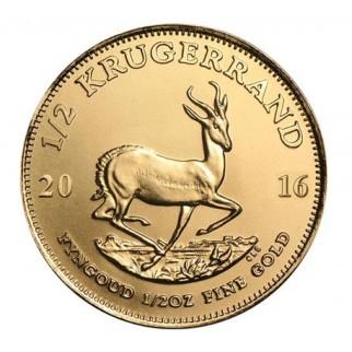 1/2 Unze Gold Krügerrand div.