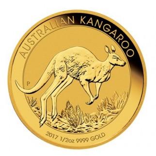 1/2 Unze Gold Känguru Nugget div.