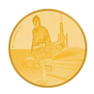 1 Unze Gold 2 NZD Star Wars Luke Skywalker