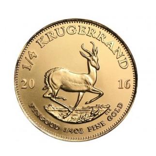 44*1/4 Unze Gold Krügerrand div.