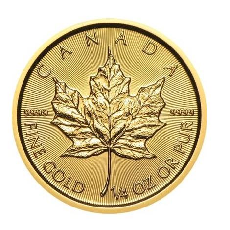1/4 Unze Gold Maple Leaf div.