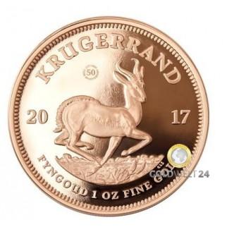 1 Unze Gold Krügerrand 2017 Jubiläumsausgabe PP