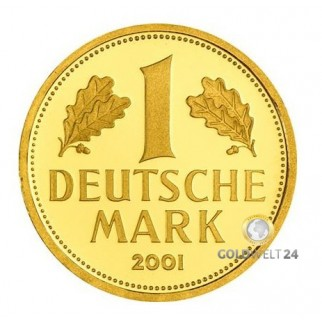1 DM Goldmünze