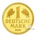 1 DM Goldmünze