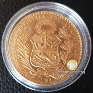 100 Soles Gold (Peru)