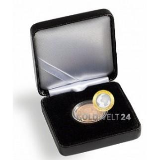 Münzetui Nobile für 4 Quadrum Münzkapseln