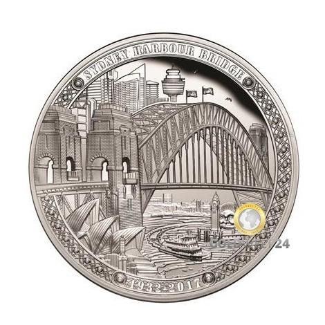 1 Unze Sydney Harbour Bridge 2017