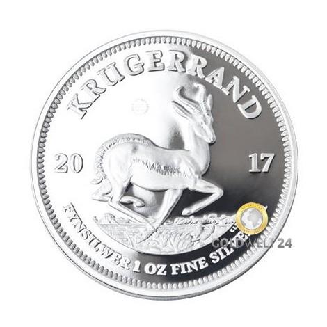 1 Unze Silber Krügerrand 2017 PP (Jubiläumsausgabe)