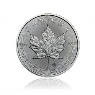 1 Unze Silber Maple Leaf div.