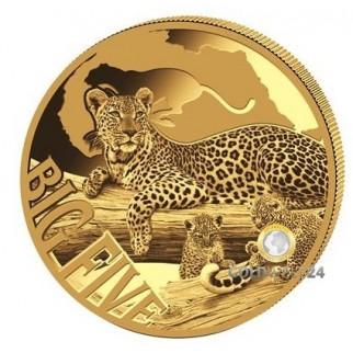 5 Unzen Gold Leopard 2017