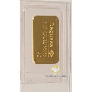 10g Goldbarren Div.