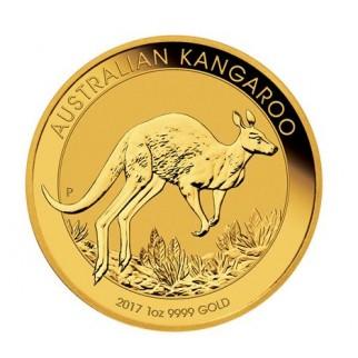 1 Unze Gold Känguru Nugget div.