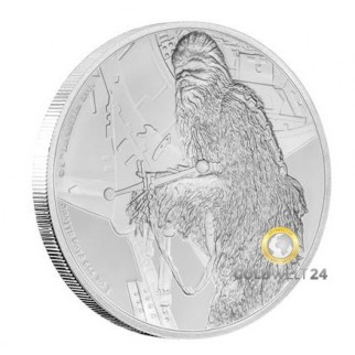 1 Unze 2 NZD Star Wars Chewbacca 2017