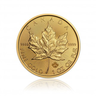 1 Unze Gold Maple Leaf 2020