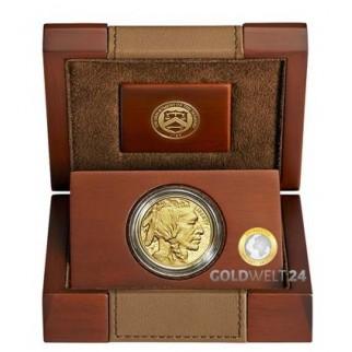1 Unze Gold American Buffalo 2017 PP