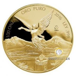 1/10 Unze Gold Libertad 2016 PP