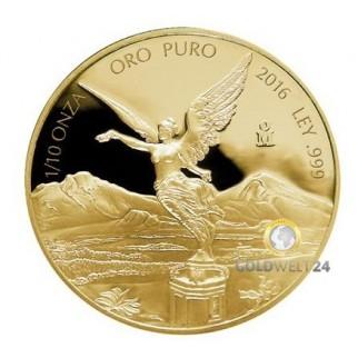 1 Unze Gold Libertad 2016 PP