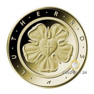 "50 Euro Goldmünze ""Lutherrose"" 2017"