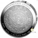 Aztekenkalender 1 kg Silber 2016 (Polierte Platte)