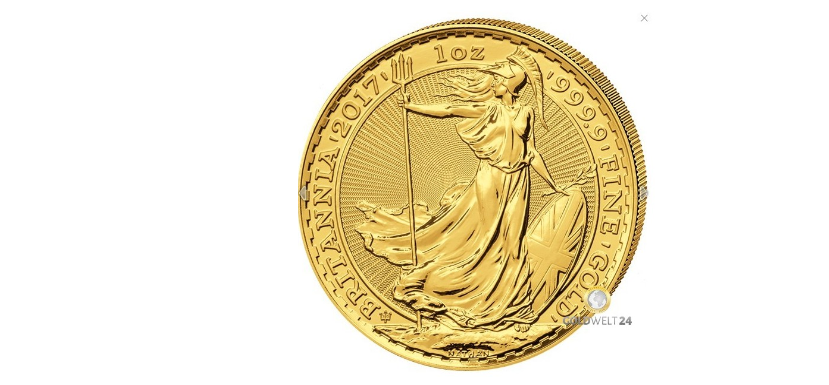 1 Unze Gold Britannia (30 Jahre Jubiläum)