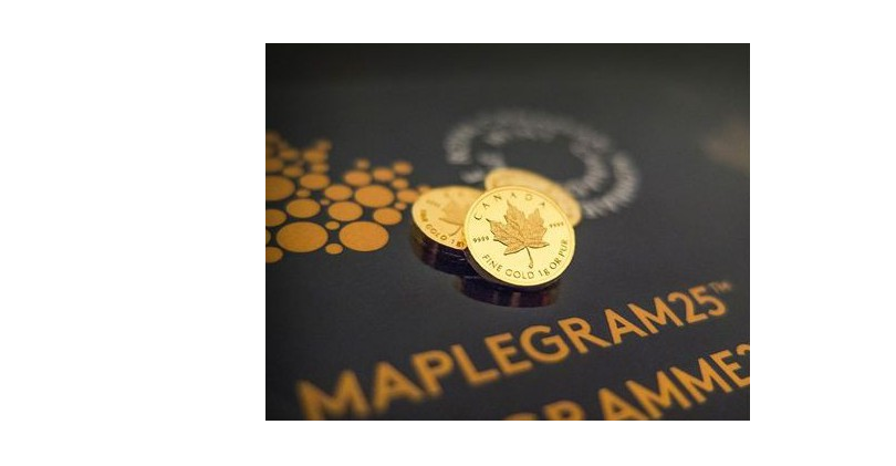 Maplegram 25*1g Maple Leaf Gold